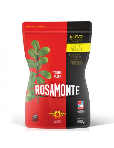 Yerba mate rosamonte zipper argentina