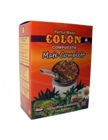 yerba mate colon compuesto