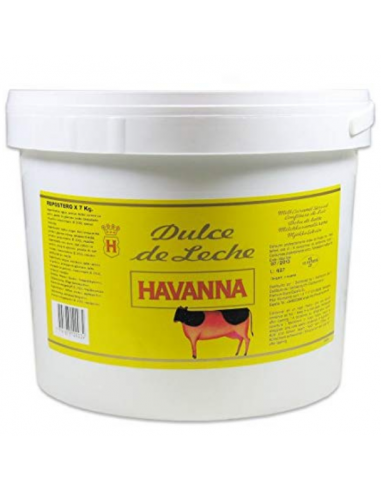 dulce de leche havanna x 7 kilos