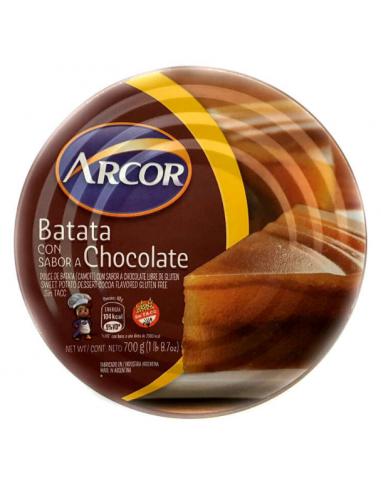 batata con chocolate arcor