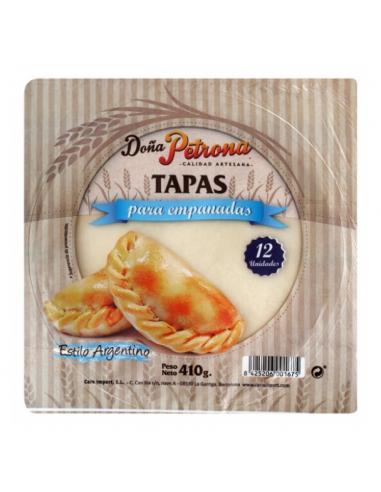 Tapas de Empanadas Doña Petrona 12 uds