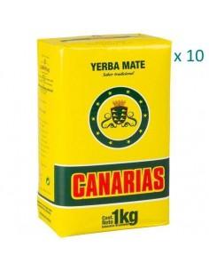 Yerba Mate Canarias x 10 unidades Oferta