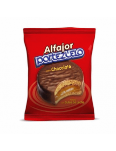 alfajor portezuelo chocolate