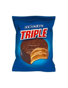 alfajor portezuelo chocolate triple