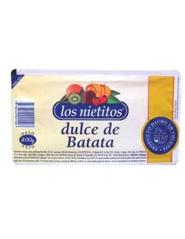 Dulce de Batata LOS NIETITOS  - 400 Grs.