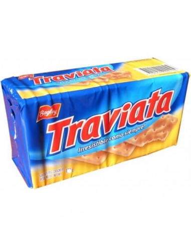 Galletitas traviata argentinas crackers