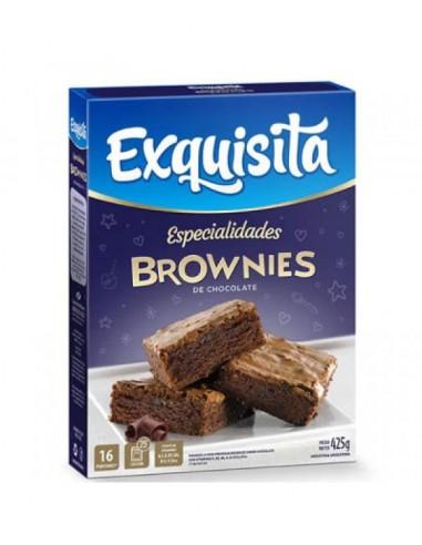 bizcochuelo exquisita brownies