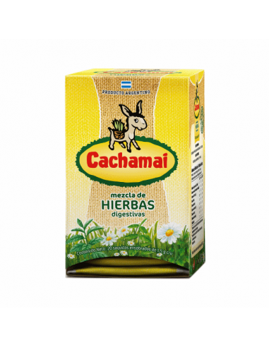 te de mezcla de hierbas digestivas cachamai argentina