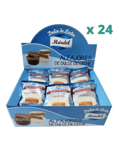 alfajor mardel blanco