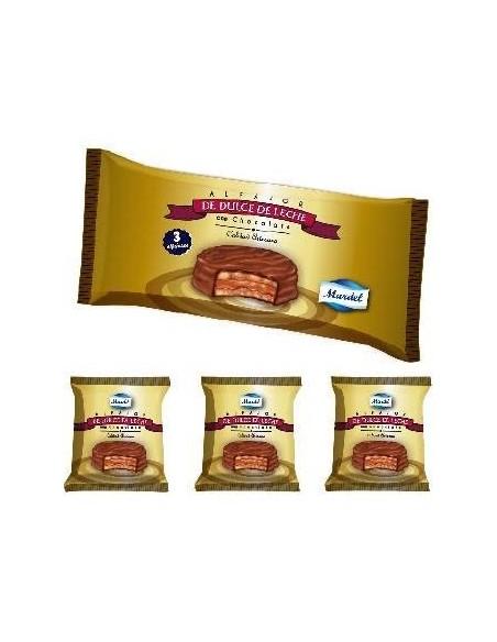 alfajor mardel chocolate