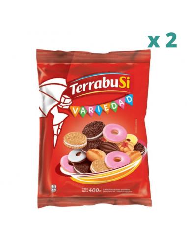 galletitas variedad de terrabusi oferta x 2
