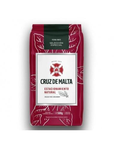 Yerba Mate CRUZ DE MALTA Estacionamiento Natural- 500 grs. seleccion especial