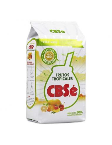 Yerba Mate Cbse Frutos tropicales x 500 grs
