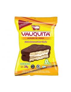 Alfajor de Arroz Vauquita Mousse sabor Dulce de leche
