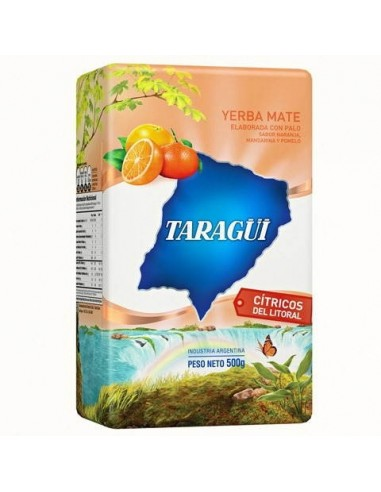 Yerba mate Taragüi citricos del litoral