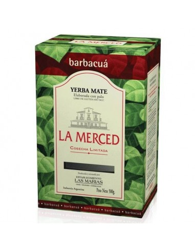 Yerba mate La merced Barbacúa
