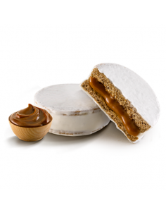 Alfajor Jorgelin Triple chocolate blanco - Caja x 24 unidades