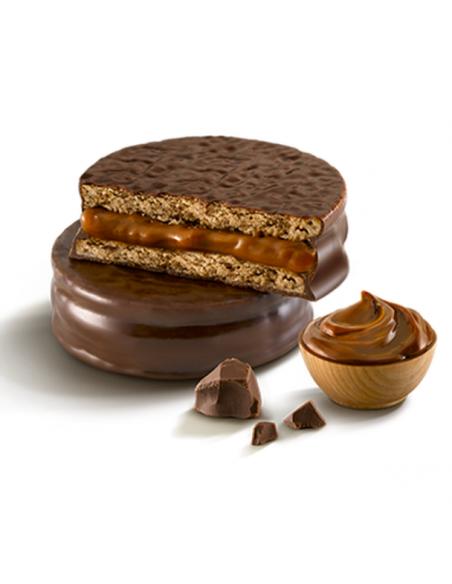 alfajor havanna de chcocolate caja