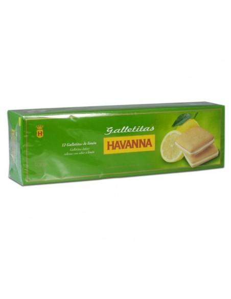 havanna limon galletitas